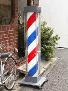 47917070 - paul sign of the barber shop